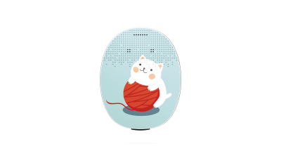 RONDO 3 Mikrofonabdeckung Kitten