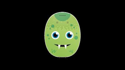 RONDO 3 Mikrofonabdeckung Green Monster