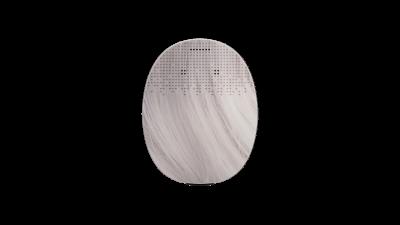 RONDO 3 Mikrofonabdeckung Silver Grey
