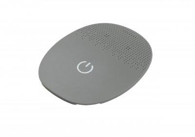 RONDO 3 Mikrofonabdeckung Powersymbol Cool Grey